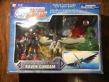 MSIA Mobile Suit Raven Gundam G w/ Dark Neros Action Figure BANDAI