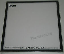 The Beatles White Album Jigsaw Puzzle usaOPOLY 500 Pcs NEW but WRAP DISTRESSED
