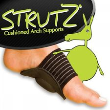 Strutz Cushioned Arch Support All-Day Reflief For Achy Feet & Plantar Fasciitis