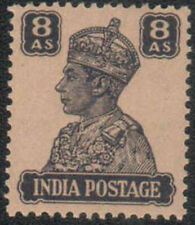 India MNH 8 Anna King George VI KGVI