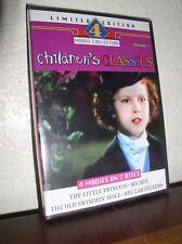 Childrens Classics - Vol. 1 - 4 Movies (DVD, 2004, 2-Disc Set,NEW)