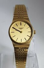 Beautiful Vintage 1970s Longines Gold Toned Ladies Mechanical Watch