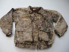 REMINGTON Jacket Men's Size L Hunting Full Zip Brown Camouflage