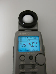 Sekonic L-358 Flashmaster with RT MODULE-32  In great condition, tested.