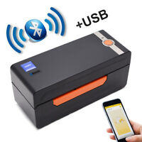 YANZEO S618 4x6 USB Bluetooth Thermal Barcode Label Printer Receipt Printer