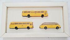 25266-3 Pc Set Wiking German Post Museum Shop Bus Box Set 1:87-710/721/730