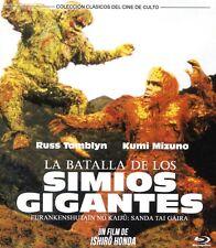 LA BATALLA DE LOS SIMIOS GIGANTES (BLU-RAY DISC BD PRECINTADO) CINE DE CULTO