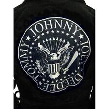 Ramones Johnny Ramone Towelling Bath Robe Biker Jacket Premium Bathrobe Gown