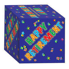 Happy Retirement Card Box Gift Money Good Luck Party Going Away