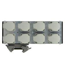 Mpl ulpb 8 Alu Powerbox 8 con 1x 16pol Harting en 8 schukodosen/multicore Plug