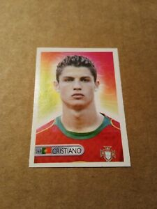 Rare Rookie sticker of Cristiano Ronaldo World Cup 2006 Mundocrom