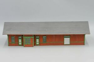 Train Station/Depot - 'Laser Cut' HO Scale  (Built)