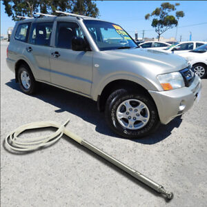 7-Section Antenna Mast & Rope For Mitsubishi Pajero NM - NP 2000-2006 For AP262