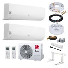 LG Multisplit Duo Klimaanlage A+++ mit WiFi 2xS09ET 2,5kW+ 7 Meter Quick Connect