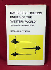 Daggers & Fighting Knives of the Western World, H. Peterson, 1970 1st Ed.