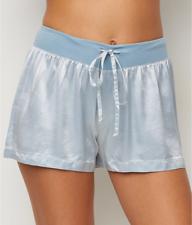 M Beautiful Pale GREEN SATIN Tap Pants Sleep Shorts French KNICKERS Pajama Bottoms Sleepwear Lounge Lingerie