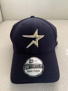 New Era Houston Astros Team Classic Flex Hat 39Thirty 3930 Large / XL Cap NEW