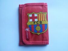 USED WALLET LIVERPOOL FC BARCELONA(FCB)  RED VERY VERY GOOD CONDITION