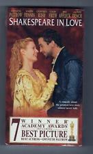 Shakespeare In Love Gwenyth Paltrow Joseph Fiennes Vhs Sealed