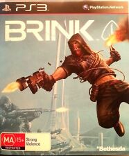 BRINK (Sony PlayStation 3) FREE POSTAGE WITHIN AUSTRALIA