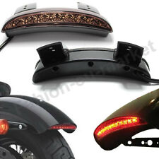 Chopped Fender Edge LED Tail Light Smoke Lens For Harley Iron Sportster XL883 US