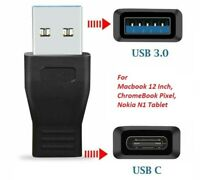 USB 3.1 Type C Adapter USB-C Female to Type A USB 3.0 Male Adapter Charger