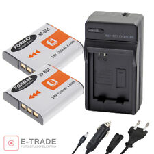 FORMAX Li-ion  2x Battery + CHARGER For Sony G Type NPBG1 NP-BG1 - DSC-H DSC-W
