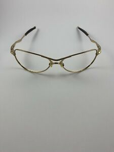 Oakley Crosshair S Small Polished Gold Frame Only Wire RARE