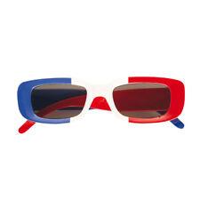 Französische Sonnenbrille - blau-weiss-rot - Partybrille Tricolore Fußball Fan