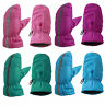 Heat Trends Kids Safety Reflector Thinsulate Waterproof Winter Snow Ski Mittens