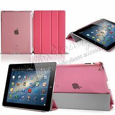 New Smart Stand Leather Magnetic Case Cover For Apple iPad 2 3 4 mini Air 2 Pro