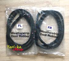 Door Rubber Weatherstrip Seal Set LH RH For 1990-1997 Nissan D21 Hardbody Pickup
