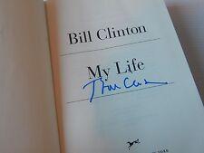 President WILLIAM JEFFERSON BILL CLINTON Signed MY LIFE Hardback Book 1st/1st