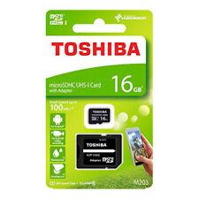 Tarjetas de memoria y adaptadores USB Toshiba para tablets e eBooks Universal