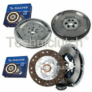 SACHS 3 PART CLUTCH KIT AND SACHS DMF FOR AUDI A3 CONVERTIBLE 1.6 TDI