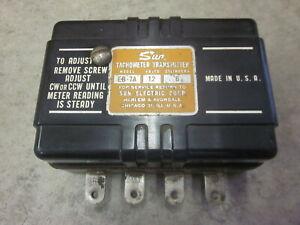 VTG 6 CYL 12V SUN TACHOMETER TRANSMITTER EB-7A AMC CHEVY FORD MOPAR TACH RAT ROD