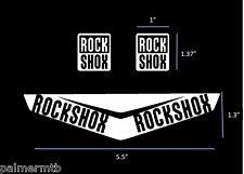 2016 Rock Shox Monarch RC3 HV Replacement Custom Color Bike Decal Kit