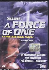 Dvd **A FORCE OF ONE** con Chuck Norris nuovo 1979