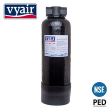 VYAIR 0617 (6.6 Litre) DI Resin Vessel + Hozelock Clunk-Click Fittings - Filled