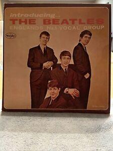 THE BEATLES -INTRODUCING~VEE JAY VJLP 1062~BLACK LABEL LP Near Mint Copy