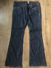 """YES YES AT NEW LOOK LADIES SKINNY FLARE JEANS SIZE 12 (inside leg 30"""" )"""