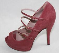 b9211910c Auth Gucci Women Suede High Heel PUMPS Shoes 38