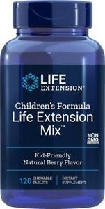Children's Formula Life Extension Mix™ 120 Chewable Berry Flavor