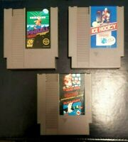 NINTENDO NES GAMES PINBALL-ICE HOCKEY-MARIO BROS. DUCK HUNT (WORKS & TESTED)