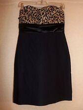 A'GACI Black Strapless Evening Dress w/Sweetheart Neckline - Junior Size L