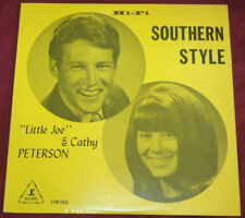 LITTLE JOE And CATHY PETERSON Southern Style RARE Private Press COUNTRY GOSPEL
