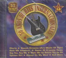 Laura Branigan Eurythmics Al Corley Falco 50 Anos De Hits Internaciinales CD New