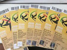 Original Tickets  WM 2010   SÜDAFRIKA  ALLE Spiele Deutschland  RAR