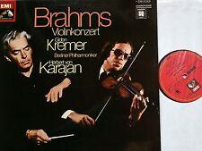 BRAHMS Violinkonzert Violin Concerto Kremer Karajan LP EMI SQ Quadro NM/M