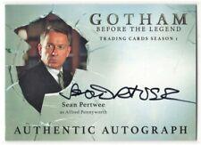 2016 Gotham Season 1 Sean Pertwee as Alfred Pennyworth Autograph Card #SP